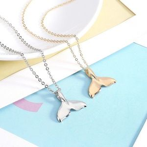 Jewelry - Mermaid Tail Necklace Gold Silver B20